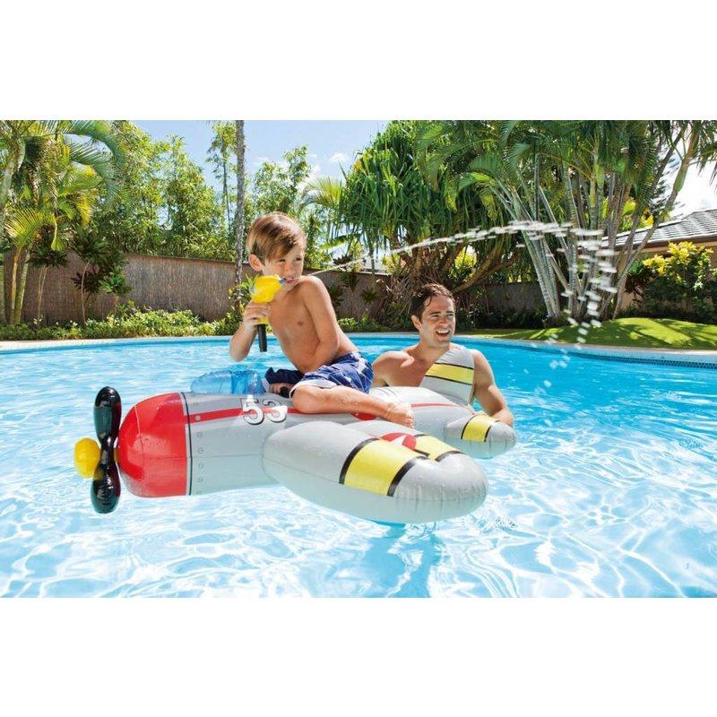 Intex Water Gun Plane ride-On