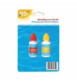 BSI navulling pH + Cl (druppeltest)