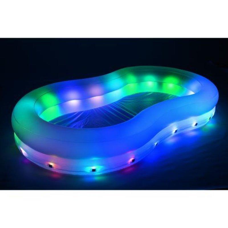 Bestway zwembad met lichtshow