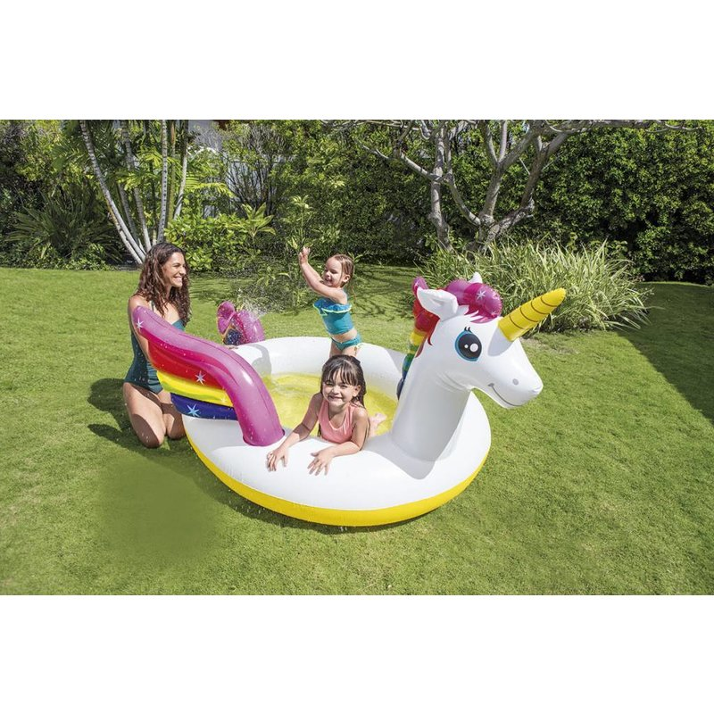 Intex Mystic Unicorn Spray Pool Kinderzwembad
