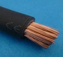 accukabel 70 mm2 zwart