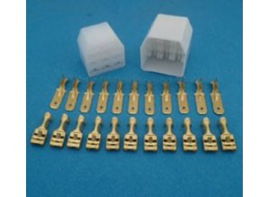 MC11 connector 11 polig transparant