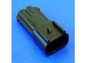 23540 2-polig 2.8 mm (male)