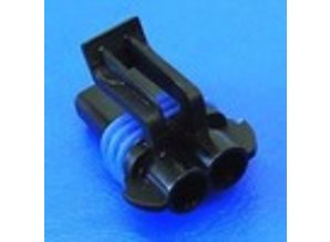 23530 2-polig 2.8 mm (fem)