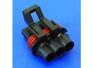 23550 3-polig 2.8 mm (fem)