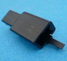 HCM2B 2 polig zwart 10 stuks
