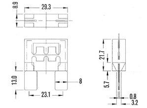 maxi zekering 60A MAF60