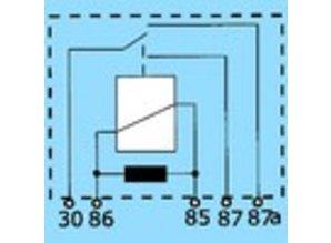2845R 12V 20/10A wisselkontakt en weerstand