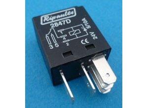 2847D 24V 5/10A wisselkontakt en diode
