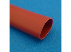 10 mm/10m isolatiekous SLVG10RED rood