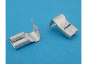 15424-02 schuifstekker haaks 6,3 mm