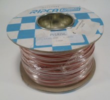 1.0 mm2 rood/wit 100 meter