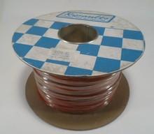Draad 2,0 mm2 rood/bruin 100 meter
