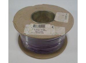 2.0 mm2 paars/wit 50 meter