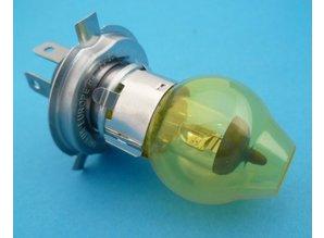 H4 lamp geel 12V 60/55W