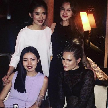 Love these amazing girls! celebs @anazsiantar @olivialazuardy @riantic @raline_shah #NIKKIE #event #dinner #party #Jakarta
