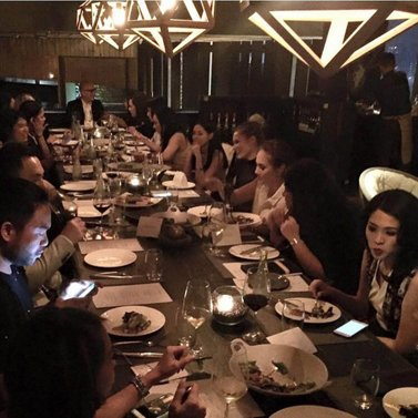 What an amazing #NIKKIE @lafayettejkt dinner#part1 Thank you all for coming