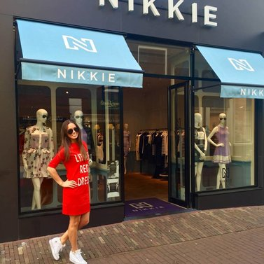 LITTLE RED DRES #DRESS #LITTLERED#DRESS #NIKKIE #BrandStore #DenBosch #Kerkstraat13