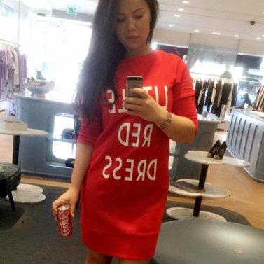 LITLLE ... DRESS #LITTLERED #DRESS #NIKKIE #BrandStore #Rotterdam #Meent90