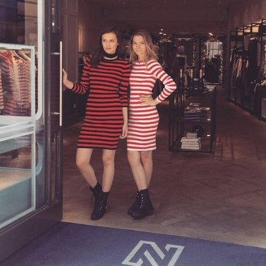 it's all about the stripes #jolie#dress #NIKKIE #BrandStore #DenBosch #Kerkstraat13