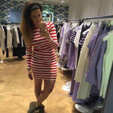 stripes, stripes, stripes #jolie#dress #NIKKIE #BrandStore #Amsterdam #PCHooftstraat34