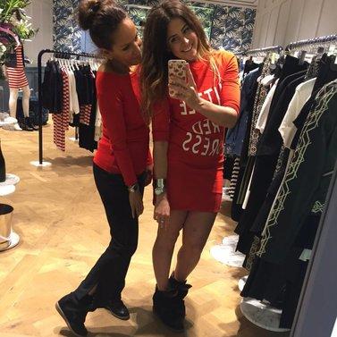 coral red favorites #NIKKIE #BrandStore #Amsterdam #PCHooftstraat34