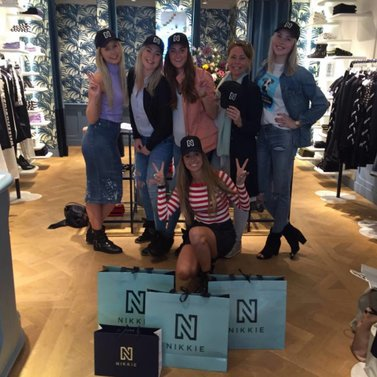 happy shopping #NIKKIE #BrandStore #Haarlem #Barteljorisstraat31