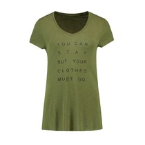 Stay Or Go T-shirt
