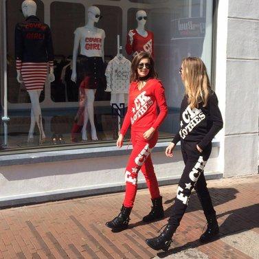 F*ck clothes! #NIKKIE #BrandStore #DenBosch #Kerkstraat13