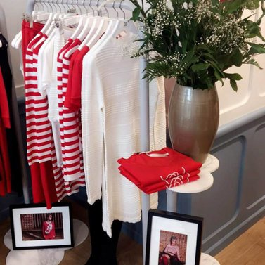 Red it is! #NIKKIE #BrandStore #Antwerpen #KorteGasthuisstraat15