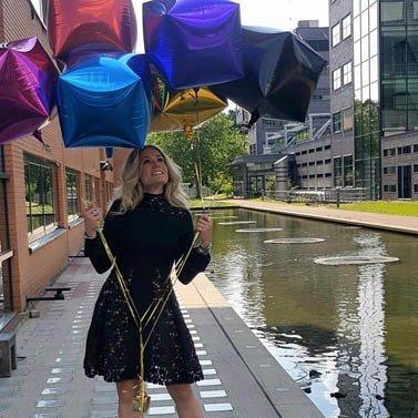 balloons! #rtlboulevardnl #livvy#dress #NIKKIE #marijeknevel