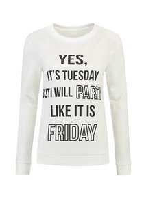 Yes It's Tuesday Sweater