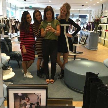 girls! #NIKKIE #BrandStore #Rotterdam #Meent90