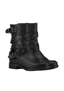 Studs Biker Boots