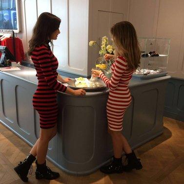 red striped jolie dresses! #NIKKIE #BrandStore #DenBosch #Kerkstraat13