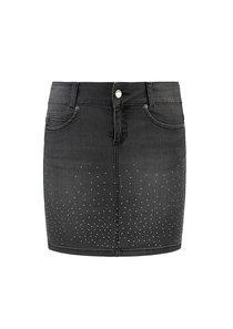 Dipdye Diamond Mini Skirt
