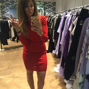 i love my red dress! #NIKKIE #BrandStore #Amsterdam #PCHooftstraat34
