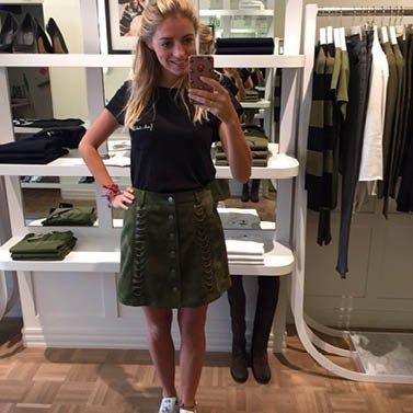 leigh skirt! #NIKKIE #BrandStore #Maastricht #Stokstraat3