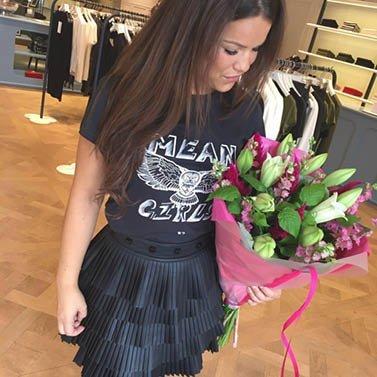 perfect flowers! #NIKKIE #BrandStore #Rotterdam #Meent90