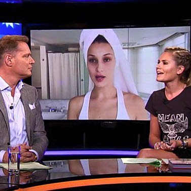 Hosting @rtlboulevardnl it was all about @bellahadid and @voguemagazine