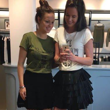 it wasn't me girls! #NIKKIE #BrandStore #Groningen #TussenBeideMarkten2-4