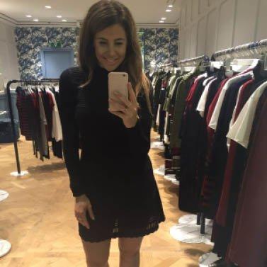 BLACK DRESS #NIKKIE #BrandStore #Amsterdam #PCHooftstraat34