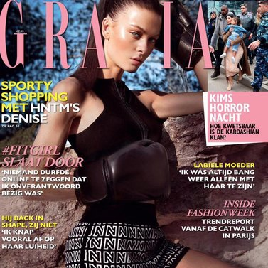 SO PROUD at the publication of our sportcollection in Grazia! #HNTM #SPORT #NEW