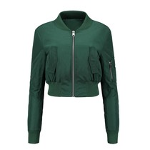 Reese Cropped Bomber