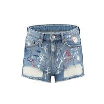Painted Blair Short Jeans