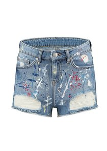 Painted Blair Short Jeans