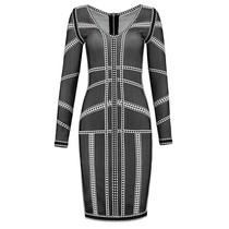 Judy V-Neck Dress