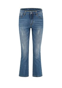 Beyda Cropped Flare Jeans