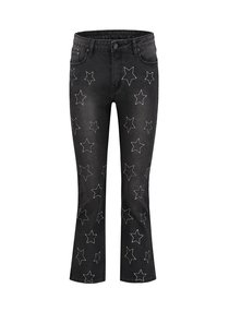 Beyda Embroidery Cropped Jeans