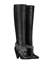 Chain Knee Boots
